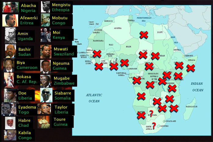 Failed African Countries